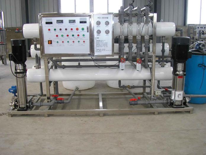 双级5吨纯净水设备