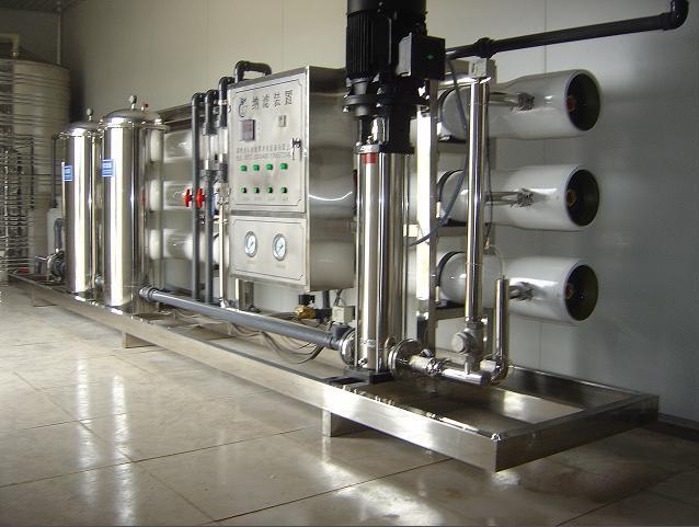单级10吨纯净水设备