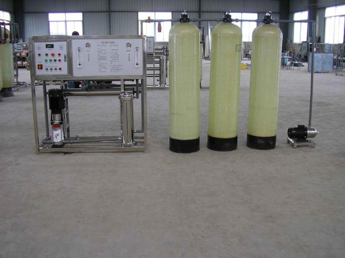 单级1吨纯净水设备